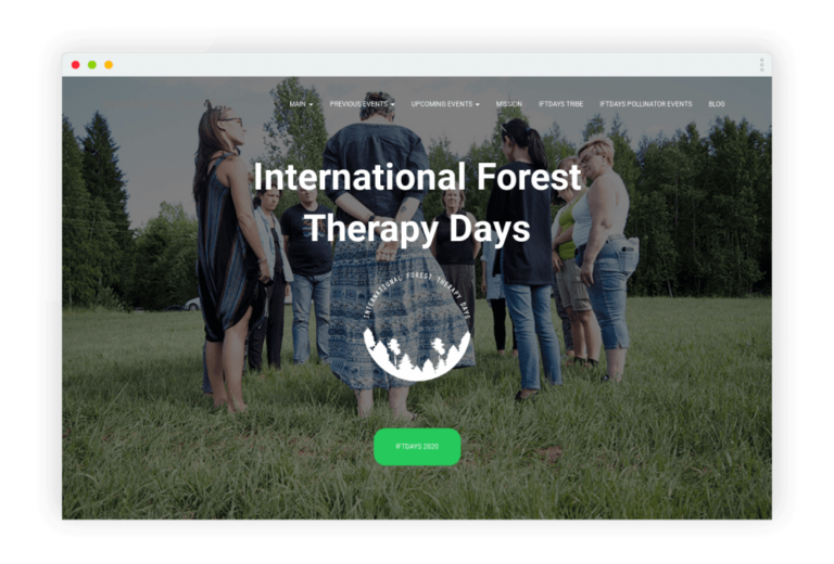foresttherapydays.com
